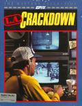 L.A. Crackdown Apple II Front Cover