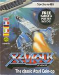 Xevious ZX Spectrum Front Cover