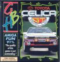 Toyota Celica GT Rally Amiga Front Cover