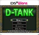 G.G Series D-Tank Nintendo DSi Front Cover