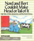 Nord and Bert Couldn't Make Head or Tail of It Apple II Front Cover
