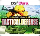 Glory Days: Tactical Defense Nintendo DSi Front Cover
