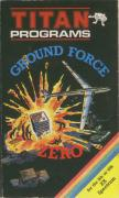 Ground Force Zero ZX Spectrum Front Cover