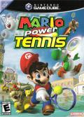 Mario Power Tennis GameCube Front Cover