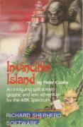 Invincible Island ZX Spectrum Front Cover