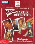 Clue: Master Detective Apple II Front Cover