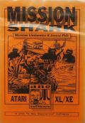 Mission Shark Atari 8-bit Front Cover
