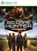 Cabela's Big Game Hunter: Pro Hunts Xbox 360 Front Cover