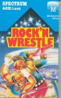 Bop'N Wrestle ZX Spectrum Front Cover