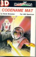 Codename MAT ZX Spectrum Front Cover