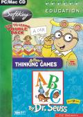 Arthur's Thinking Games & Dr Seuss ABC Macintosh Front Cover