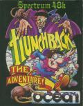 Hunchback: the Adventure ZX Spectrum Front Cover