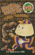 Humpty Dumpty meets the Fuzzy Wuzzies ZX Spectrum Front Cover