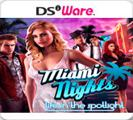 Miami Nights 2: The City is Yours Nintendo DSi Front Cover