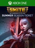 Smite: Battleground of the Gods - Summer Season Ticket Xbox One Front Cover 1st version