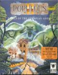 Populous II: Trials of the Olympian Gods Amiga Front Cover