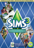 The Sims 3: Hidden Springs Macintosh Front Cover