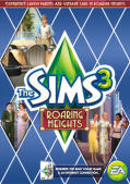 The Sims 3: Roaring Heights Macintosh Front Cover