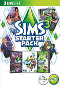 The Sims 3: Starter Pack Macintosh Front Cover