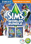 The Sims 3: Worlds Bundle Macintosh Front Cover
