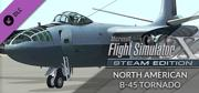 Microsoft Flight Simulator X: Steam Edition - North American B-45 Tornado Windows Front Cover