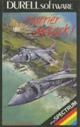 Harrier Attack! ZX Spectrum Front Cover