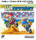 Vs. Excitebike NES Front Cover Manual (Front)