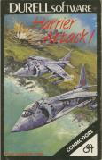 Harrier Attack! Commodore 64 Front Cover