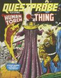 Questprobe: Featuring Human Torch and the Thing ZX Spectrum Front Cover