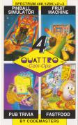 Quattro Coin-Ops ZX Spectrum Front Cover