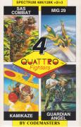 Quattro Fighters ZX Spectrum Front Cover