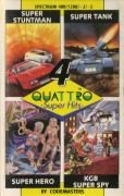 Quattro Super Hits ZX Spectrum Front Cover