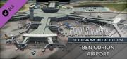 Microsoft Flight Simulator X: Steam Edition - Ben Gurion Airport Windows Front Cover