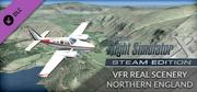 Microsoft Flight Simulator X: Steam Edition - VFR Real Scenery Northern England Windows Front Cover