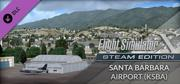 Microsoft Flight Simulator X: Steam Edition - Santa Barbara Airport (KSBA) Windows Front Cover