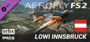 Aerofly FS 2 Flight Simulator: LOWI Innsbruck Windows Front Cover