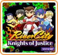 River City: Knights of Justice Nintendo 3DS Front Cover