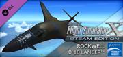 Microsoft Flight Simulator X: Steam Edition - Rockwell B-1B Lancer Windows Front Cover