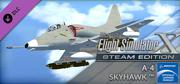 Microsoft Flight Simulator X: Steam Edition - A-4 Skyhawk Windows Front Cover
