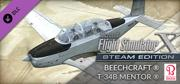 Microsoft Flight Simulator X: Steam Edition - Beechcraft T-34B Mentor Windows Front Cover