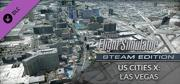 Microsoft Flight Simulator X: Steam Edition - US Cities X: Las Vegas Windows Front Cover