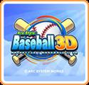 Arc Style: Baseball 3D Nintendo 3DS Front Cover