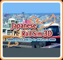 Japanese Rail Sim 3D: Monorail Trip to Okinawa Nintendo 3DS Front Cover