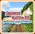 Japanese Rail Sim 3D: Journey in Suburbs #1 - Vol.2 Nintendo 3DS Front Cover