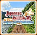 Japanese Rail Sim 3D: Journey in Suburbs #1 - Vol.3 Nintendo 3DS Front Cover