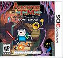 Adventure Time: Explore the Dungeon Because I DON'T KNOW! Nintendo 3DS Front Cover