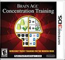 Brain Age: Concentration Training Nintendo 3DS Front Cover