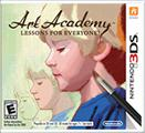 Art Academy: Lessons for Everyone! Nintendo 3DS Front Cover