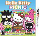 Hello Kitty Picnic with Sanrio Friends Nintendo 3DS Front Cover