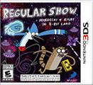 Regular Show: Mordecai & Rigby in 8-Bit Land Nintendo 3DS Front Cover